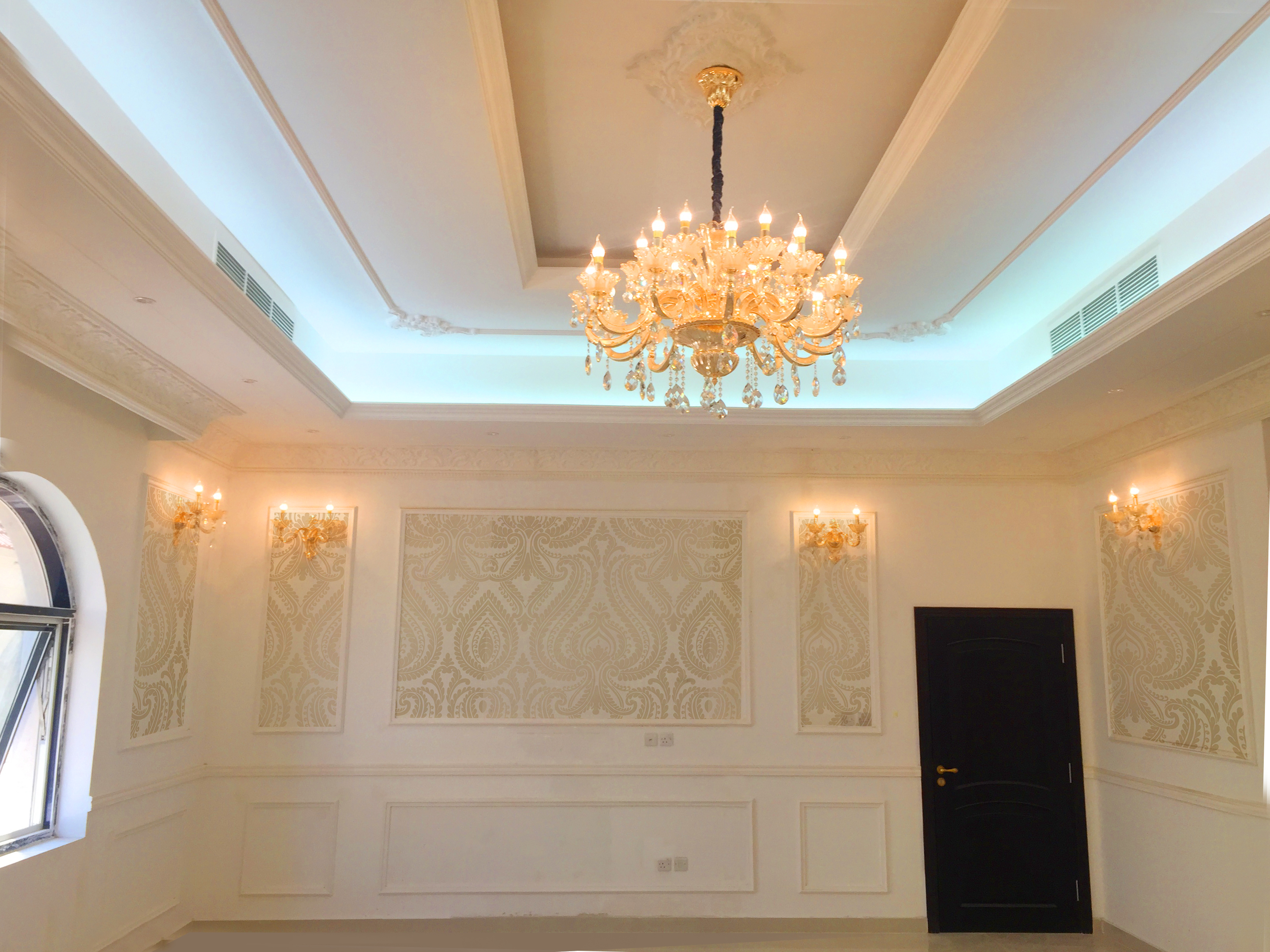 Jewel interior design uae dubai abudhabi sharjah ajman for Dining hall interior design